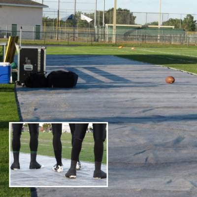 Bench Zone® Protective Turf Mat Main Image